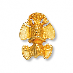 Pendentif plaqué or