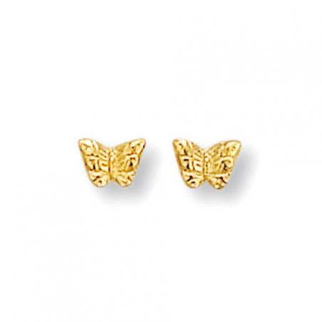 Boucle d'oreille plaqué or