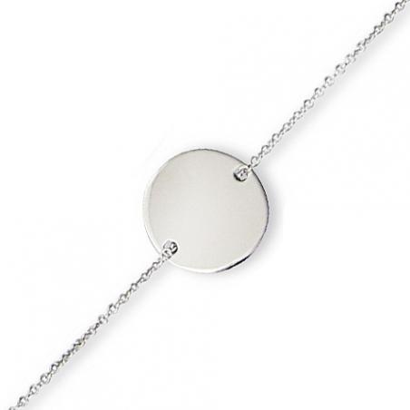 Bracelet argent en 18.5 cm