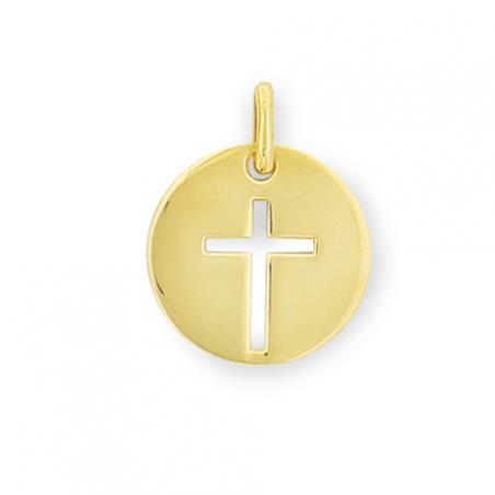 Médaille plaqué or