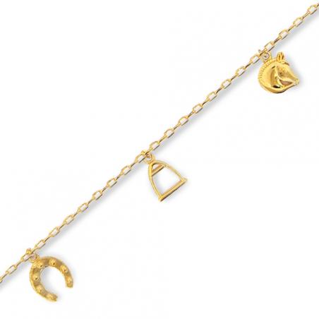 Bracelet enfant plaqué or
