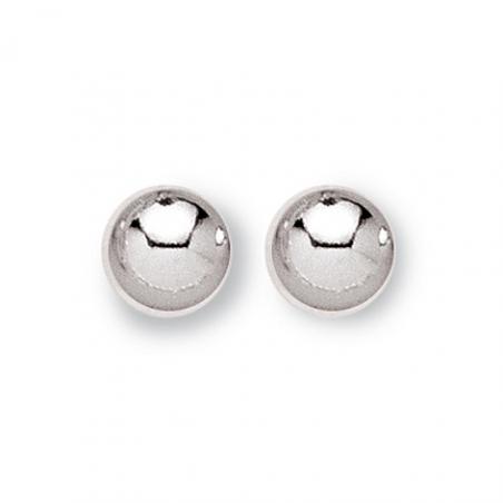 Boucles d'oreilles Argent boule