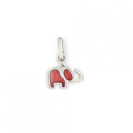 Pendentif argent enfant éléphant