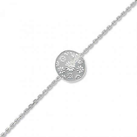 Bracelet argent en 18 cm