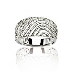 Bague or gris / Diamant 0.50 ct