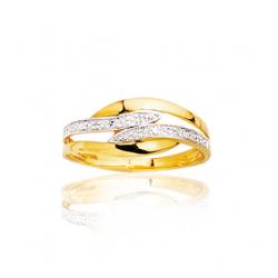 9cc99143f66 Bague en or   Diamant 0.005 ct   T50 à T58 2en2