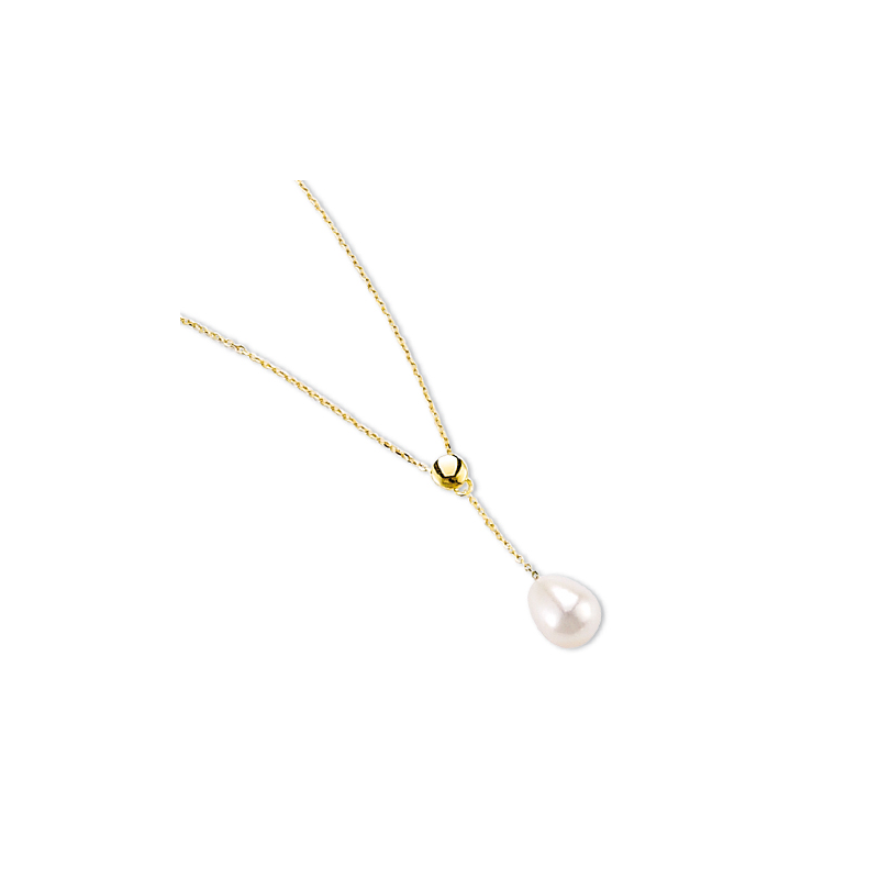 collier perle or