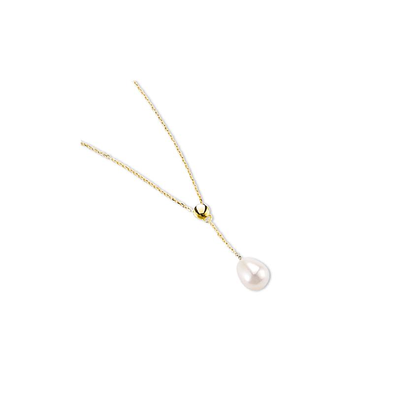 la moitié 3bb1a 49068 Collier or et perle culture eau douce - Sainte Foy Bijoux