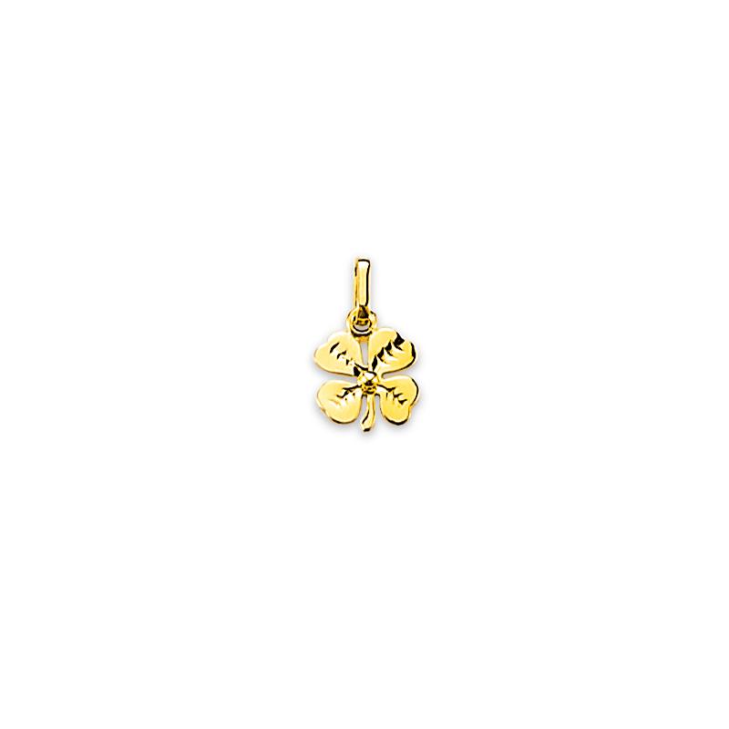 plutôt sympa d800d 977c3 Pendentif trèfle or - Sainte Foy Bijoux