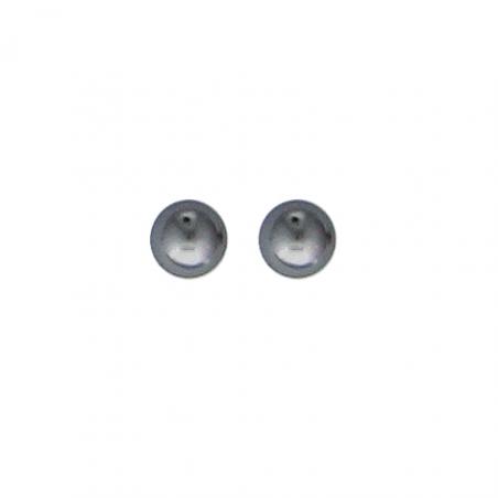Boucles d'oreilles argent perles d'imitations