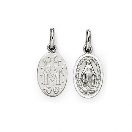 Médaille Miraculeuse en argent recto verso