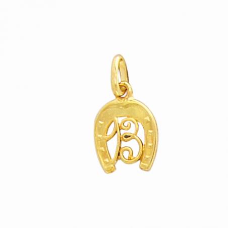 Pendentif fer à cheval en plaqué or