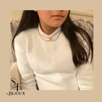 Chaining it together - gold and rhodium snake chains.  www.Saintefoy-bijoux.fr  #collier #necklace #layerednecklaces #bijouxsf #chaines #sfbijoux #bijouxaddict #jewelry #rhodiumchain #necklaceoftheday #goldplatedchain #chainesplaqueor